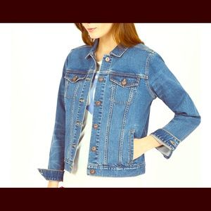 Nautica womens jean jacket